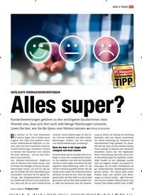 Titelbild der Ausgabe 2/2019 von GEFÄLSCHTE VERBRAUCHERBEWERTUNGEN: Alles super?. Zeitschriften als Abo oder epaper bei United Kiosk online kaufen.