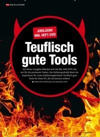 Titelbild der Ausgabe 4/2019 von Jubiläum! 666. Heft-DVD: Teuflisch gute Tools. Zeitschriften als Abo oder epaper bei United Kiosk online kaufen.
