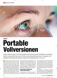 Titelbild der Ausgabe 5/2019 von HACKER: Portable Vollversionen. Zeitschriften als Abo oder epaper bei United Kiosk online kaufen.