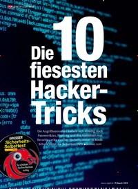 Titelbild der Ausgabe 7/2019 von Die 10 fiesesten Hacker-Tricks. Zeitschriften als Abo oder epaper bei United Kiosk online kaufen.