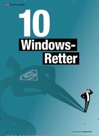 Titelbild der Ausgabe 8/2019 von TOOL-PAKET : 10 Windows-Retter. Zeitschriften als Abo oder epaper bei United Kiosk online kaufen.