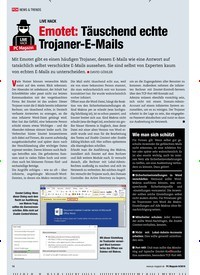 Titelbild der Ausgabe 9/2019 von Live Hack: Emotet: Täuschend echte Trojaner-E-Mails. Zeitschriften als Abo oder epaper bei United Kiosk online kaufen.