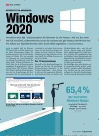 Titelbild der Ausgabe 9/2019 von BETRIEBSSYSTEM-NACHF: Windows 2020. Zeitschriften als Abo oder epaper bei United Kiosk online kaufen.
