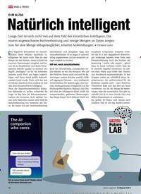 Titelbild der Ausgabe 9/2019 von KI IM ALLTAG: Natürlich intelligent. Zeitschriften als Abo oder epaper bei United Kiosk online kaufen.