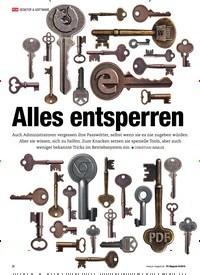 Titelbild der Ausgabe 9/2019 von Alles entsperren. Zeitschriften als Abo oder epaper bei United Kiosk online kaufen.