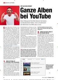Titelbild der Ausgabe 11/2019 von MP3 AUS DEM INTERNET: Ganze Alben bei YouTube. Zeitschriften als Abo oder epaper bei United Kiosk online kaufen.