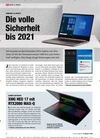 Titelbild der Ausgabe 1/2020 von WINDOWS-10-UPDATE: Die volle Sicherheit bis 2021. Zeitschriften als Abo oder epaper bei United Kiosk online kaufen.