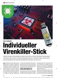 Titelbild der Ausgabe 1/2020 von MULTI-SICHERHEIT: Individueller Virenkiller-Stick. Zeitschriften als Abo oder epaper bei United Kiosk online kaufen.