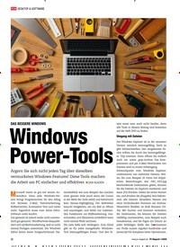Titelbild der Ausgabe 1/2020 von DAS BESSERE WINDOWS: Windows Power- Tools. Zeitschriften als Abo oder epaper bei United Kiosk online kaufen.