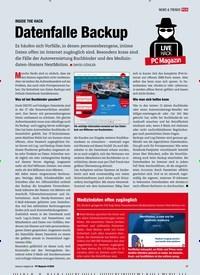 Titelbild der Ausgabe 4/2020 von INSIDE THE HACK: Datenfalle Backup. Zeitschriften als Abo oder epaper bei United Kiosk online kaufen.