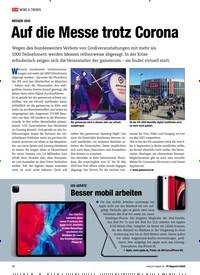 Titelbild der Ausgabe 6/2020 von MESSEN 2020: Auf die Messe trotz Corona. Zeitschriften als Abo oder epaper bei United Kiosk online kaufen.