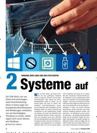 Titelbild der Ausgabe 6/2020 von Windows oder Linux vom USB-Stick booten: 2 Systeme auf 1 PC. Zeitschriften als Abo oder epaper bei United Kiosk online kaufen.
