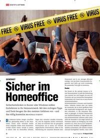 Titelbild der Ausgabe 6/2020 von SICHERHEIT: Sicher im Homeoffice. Zeitschriften als Abo oder epaper bei United Kiosk online kaufen.
