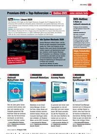 Titelbild der Ausgabe 7/2020 von Premium-DVD + Top-Vollversion + Online-DVD siehe nächste Seite. Zeitschriften als Abo oder epaper bei United Kiosk online kaufen.