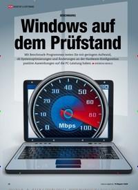 Titelbild der Ausgabe 7/2020 von BENCHMARKS: Windows auf dem Prüfstand. Zeitschriften als Abo oder epaper bei United Kiosk online kaufen.