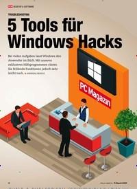 Titelbild der Ausgabe 8/2020 von TROUBLESHOOTING 5 Tools für Windows Hacks. Zeitschriften als Abo oder epaper bei United Kiosk online kaufen.