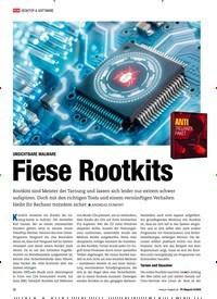 Titelbild der Ausgabe 8/2020 von UNSICHTBARE MALWARE Fiese Rootkits. Zeitschriften als Abo oder epaper bei United Kiosk online kaufen.
