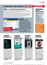 Titelbild der Ausgabe 11/2020 von Premium-DVD + Top-Vollversion + Online-DVD siehe nächste Seite. Zeitschriften als Abo oder epaper bei United Kiosk online kaufen.