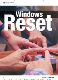 Titelbild der Ausgabe 11/2020 von Windows Reset. Zeitschriften als Abo oder epaper bei United Kiosk online kaufen.