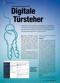 Titelbild der Ausgabe 11/2020 von SECHS PASSWORT-MANAGER IM TEST: Digitale Türsteher. Zeitschriften als Abo oder epaper bei United Kiosk online kaufen.