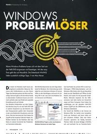 Titelbild der Ausgabe 5/2018 von Problemlöser für Windows: WINDOWS PROBLEMLÖSER. Zeitschriften als Abo oder epaper bei United Kiosk online kaufen.