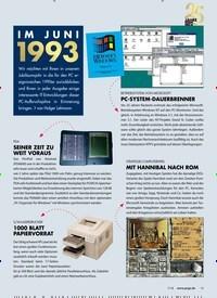 Titelbild der Ausgabe 7/2018 von IM JUNI 1993. Zeitschriften als Abo oder epaper bei United Kiosk online kaufen.