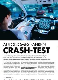 Titelbild der Ausgabe 7/2018 von REPORT > Unfallanalyse autonomes Fahren: AUTONOMES FAHREN CRASH-TEST. Zeitschriften als Abo oder epaper bei United Kiosk online kaufen.
