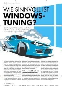 Titelbild der Ausgabe 7/2018 von Windows-Tuning im Faktencheck: WIE SINNVOLL IST WINDOWSTUNING?. Zeitschriften als Abo oder epaper bei United Kiosk online kaufen.