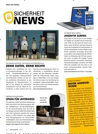 Titelbild der Ausgabe 8/2018 von SICHERHEIT NEWS. Zeitschriften als Abo oder epaper bei United Kiosk online kaufen.