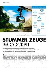 Titelbild der Ausgabe 8/2018 von STUMMER ZEUGE IM COCKPIT. Zeitschriften als Abo oder epaper bei United Kiosk online kaufen.