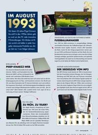 Titelbild der Ausgabe 9/2018 von IM AUGUST 1993. Zeitschriften als Abo oder epaper bei United Kiosk online kaufen.