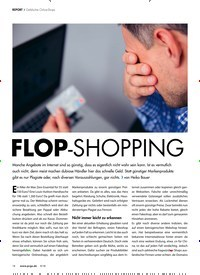 Titelbild der Ausgabe 9/2018 von FLOP-SHOPPING. Zeitschriften als Abo oder epaper bei United Kiosk online kaufen.