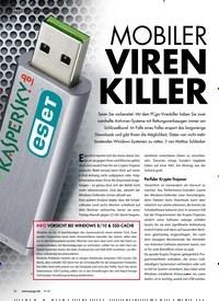 Titelbild der Ausgabe 9/2018 von MOBILER VIREN KILLER. Zeitschriften als Abo oder epaper bei United Kiosk online kaufen.