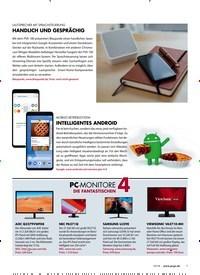Titelbild der Ausgabe 10/2018 von PC-MONITORE 4 DIE FA NTASTISCHEN. Zeitschriften als Abo oder epaper bei United Kiosk online kaufen.