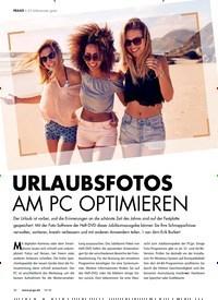 Titelbild der Ausgabe 10/2018 von 25 Vollversionen gratis: URLAUBSFOTOS AM PC OPTIMIEREN. Zeitschriften als Abo oder epaper bei United Kiosk online kaufen.