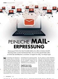 Titelbild der Ausgabe 11/2018 von PEINLICHE MAIL- ERPRESSUNG. Zeitschriften als Abo oder epaper bei United Kiosk online kaufen.