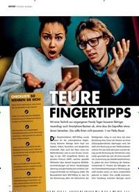 Titelbild der Ausgabe 12/2018 von REPORT ? Mobile Abofallen: TEURE FINGERTIPPS. Zeitschriften als Abo oder epaper bei United Kiosk online kaufen.