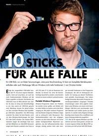 Titelbild der Ausgabe 12/2018 von PRAXIS ? Nützliche Boot-Sticks: 10 STICKS FUR ALLE ALLE. Zeitschriften als Abo oder epaper bei United Kiosk online kaufen.