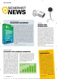 Titelbild der Ausgabe 1/2019 von NEWS UND TRENDS: SICHERHEIT NEWS. Zeitschriften als Abo oder epaper bei United Kiosk online kaufen.