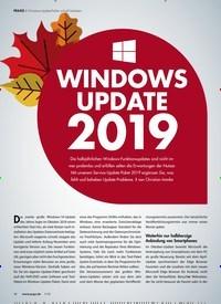 Titelbild der Ausgabe 1/2019 von Windows-Update-Fehler schnell beheben: WINDOWS UPDATE 2019: DVD CD Software/Tool-Pakete/Windows Service Paket 2019. Zeitschriften als Abo oder epaper bei United Kiosk online kaufen.