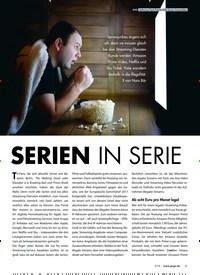 Titelbild der Ausgabe 3/2019 von PRAXIS Alle Serien freischalten: SERIEN IN SERIE. Zeitschriften als Abo oder epaper bei United Kiosk online kaufen.