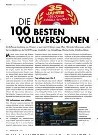 Titelbild der Ausgabe 5/2019 von Zum Windows-Jubiläum 100 Vollversionen: DIE 100 BESTEN VOLLVERSIONEN. Zeitschriften als Abo oder epaper bei United Kiosk online kaufen.