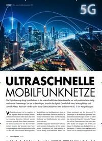 Titelbild der Ausgabe 6/2019 von REPORT Der neue Mobilfunkstandard 5G: ULTRASCHNELLE MOBILFUNKNETZE. Zeitschriften als Abo oder epaper bei United Kiosk online kaufen.