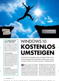 Titelbild der Ausgabe 6/2019 von Windows 10 gratis: Windows10 KOSTENLOS UMSTEIGEN. Zeitschriften als Abo oder epaper bei United Kiosk online kaufen.