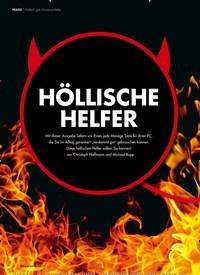 Titelbild der Ausgabe 7/2019 von Höllisch gute Windows-Helfer: HÖLLISCHE HELFER. Zeitschriften als Abo oder epaper bei United Kiosk online kaufen.