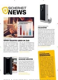 Titelbild der Ausgabe 9/2019 von sicherheit News. Zeitschriften als Abo oder epaper bei United Kiosk online kaufen.