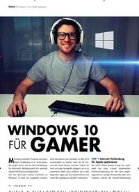 Titelbild der Ausgabe 9/2019 von Windows 10 f Ü r gamer. Zeitschriften als Abo oder epaper bei United Kiosk online kaufen.