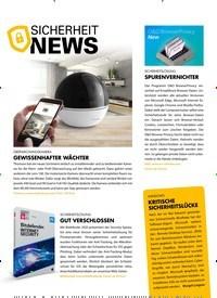 Titelbild der Ausgabe 10/2019 von SICHERHEIT NEWS. Zeitschriften als Abo oder epaper bei United Kiosk online kaufen.
