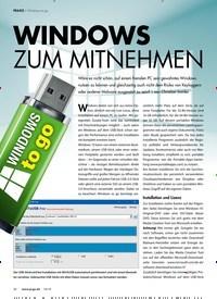 Titelbild der Ausgabe 10/2019 von WINDOWS ZUM MITNEHMEN. Zeitschriften als Abo oder epaper bei United Kiosk online kaufen.
