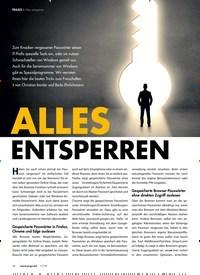 Titelbild der Ausgabe 11/2019 von ALLES ENTSPERREN. Zeitschriften als Abo oder epaper bei United Kiosk online kaufen.